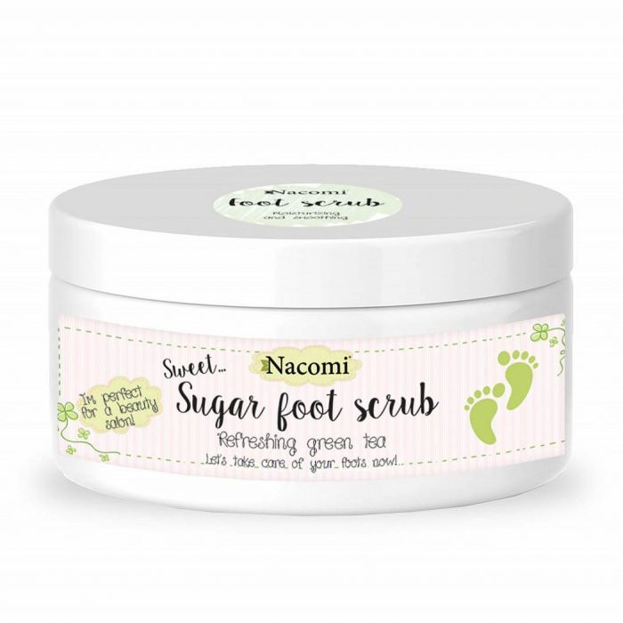 Afbeelding van Nacomi Foot Scrub - Refreshing Green Tea 125g.