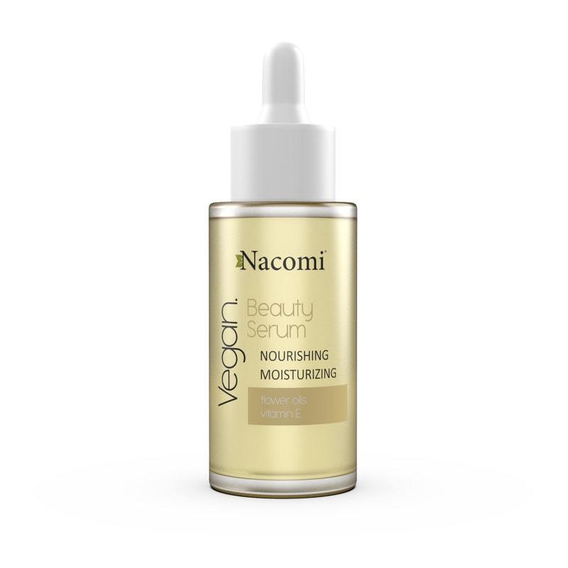 Afbeelding van Nacomi Beauty Serum Nourishing & Moisturizing Serum with flower oils 30ml.