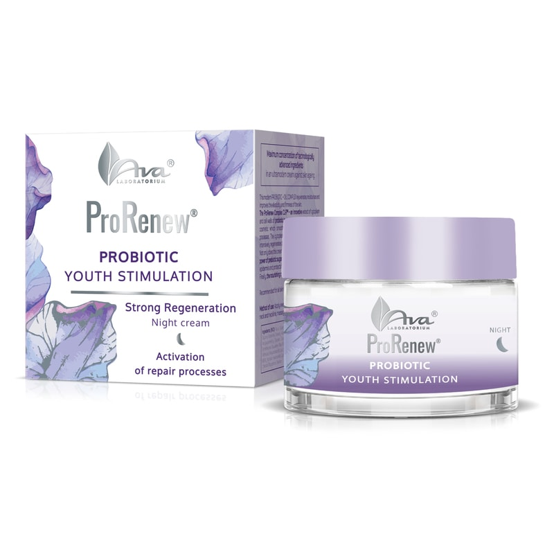Afbeelding van AVA Cosmetics ProRenew - Strong Regeneration Night Cream 50ml.