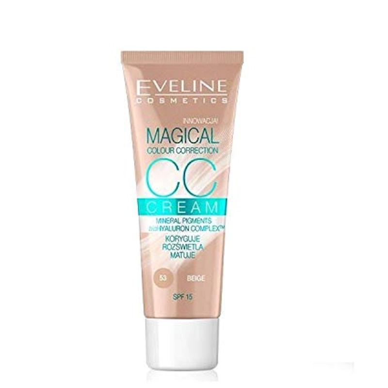 Afbeelding van Eveline CosmeticsCc Cream Magical Colour Correction Beige 30ml.