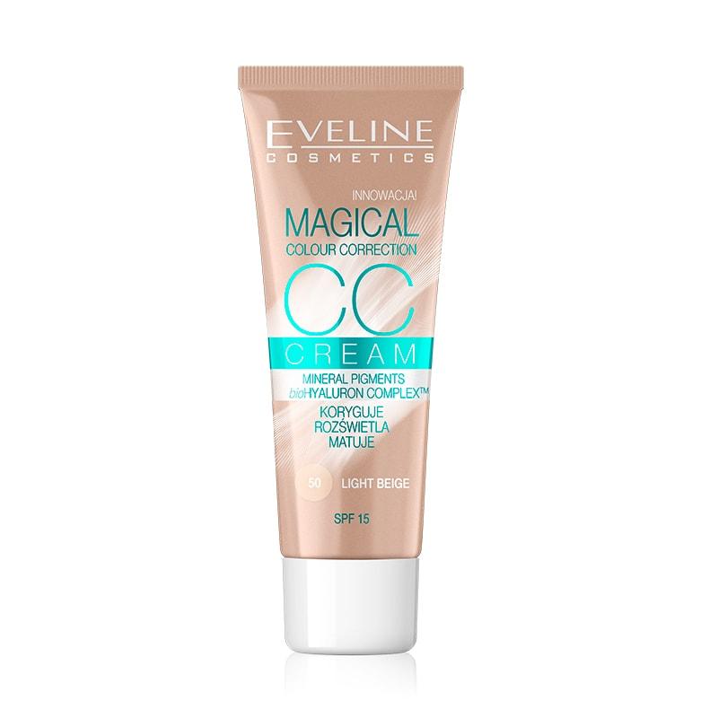Afbeelding van Eveline CosmeticsCc Cream Magical Colour Correction Light Beige 30ml.