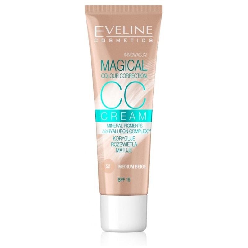 Afbeelding van Eveline CosmeticsCc Cream Magical Colour Correction Medium Beige 30ml.