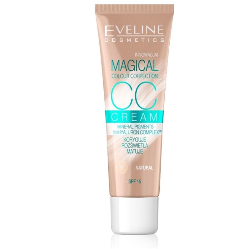Afbeelding van Eveline CosmeticsCc Cream Magical Colour Correction Natural 30ml.