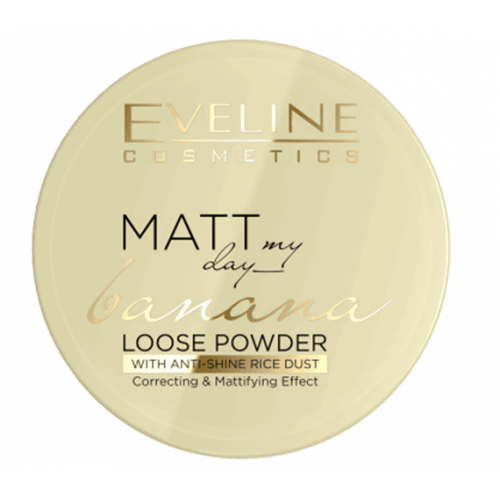 Afbeelding van Eveline Cosmetics Matt My Day Loose Banana Powder 6g.