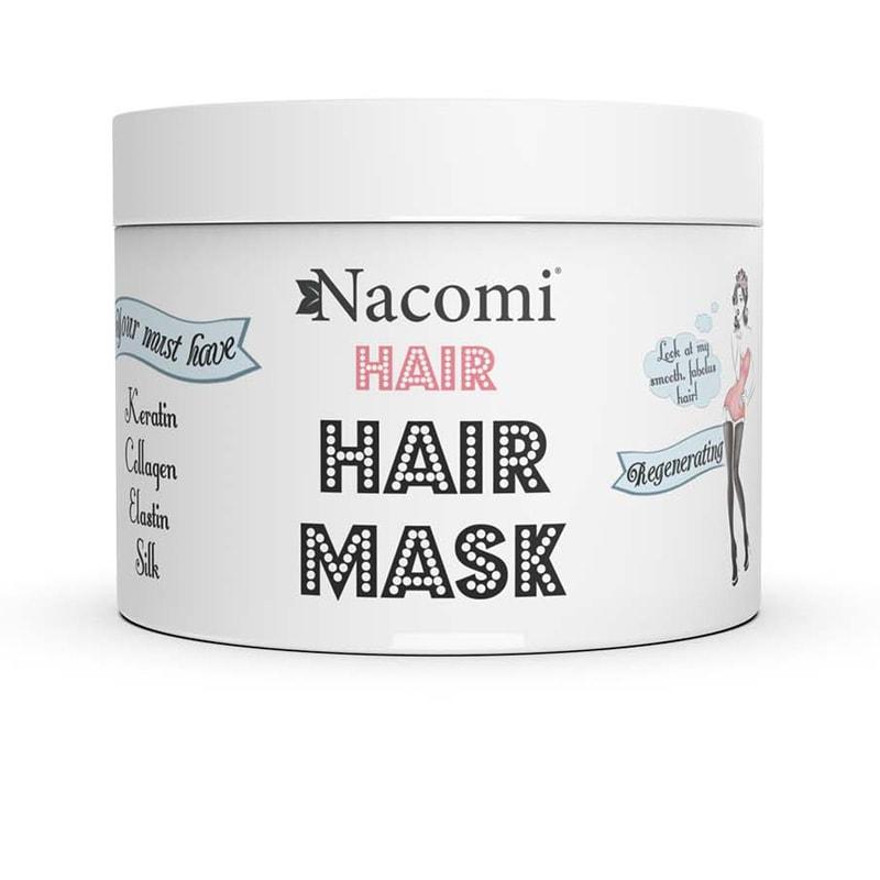Afbeelding van Nacomi Nourishing And Regenerating Hair Mask 200ml.
