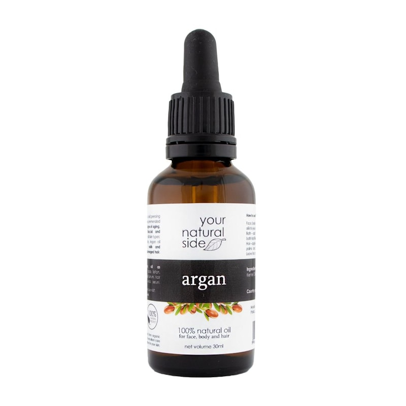 Afbeelding van Your Natural Side Argan Organic Oil, Unrefined 30ml. Pipette
