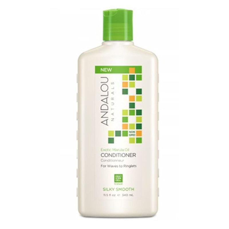 Afbeelding van Andalou Exotic Marula Oil Conditioner For Waves to Ringlets - Silky Smooth 340ml.