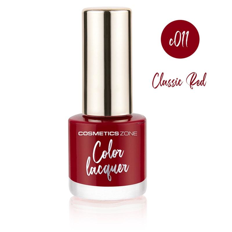 Afbeelding van Cosmetics Zone Classic Nail Gel 7ml. - Classic Red C011