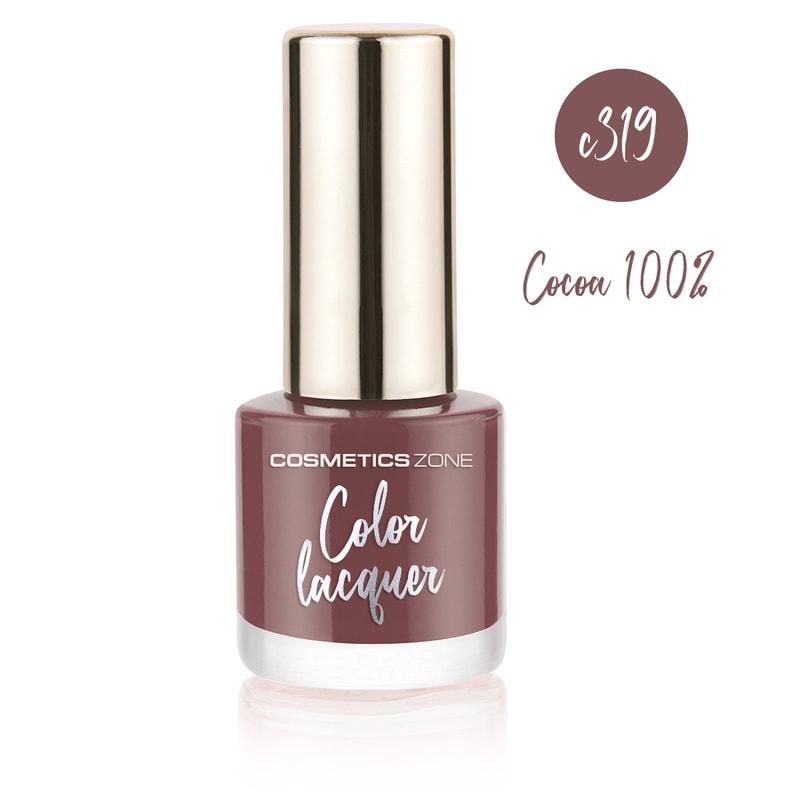 Afbeelding van Cosmetics Zone Classic Nail Polish 7ml. - Cocoa 100% C319