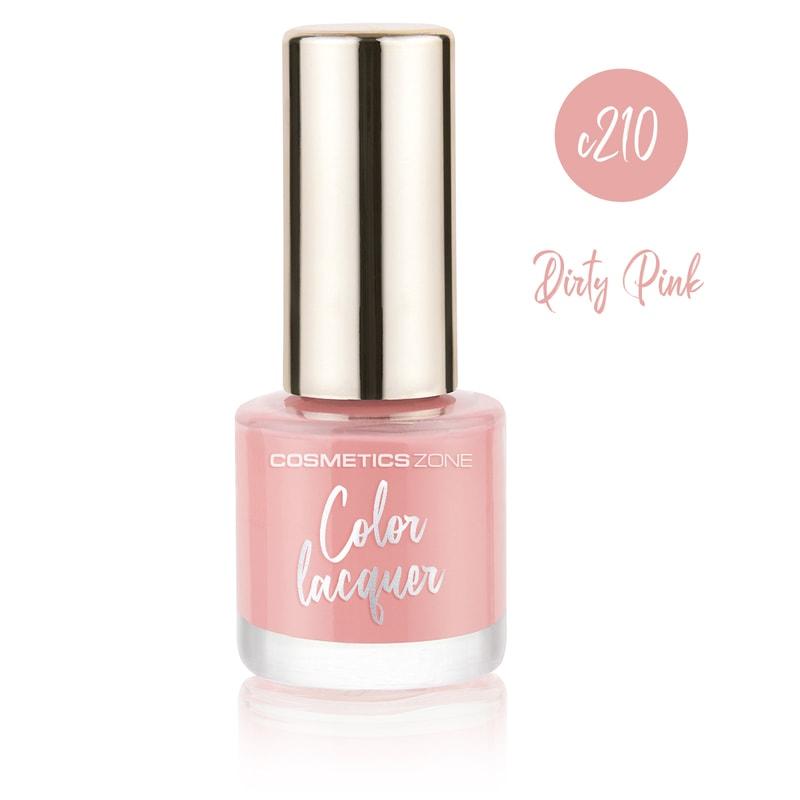 Afbeelding van Cosmetics Zone Classic Nail Polish 7ml. - Dirty Pink C210
