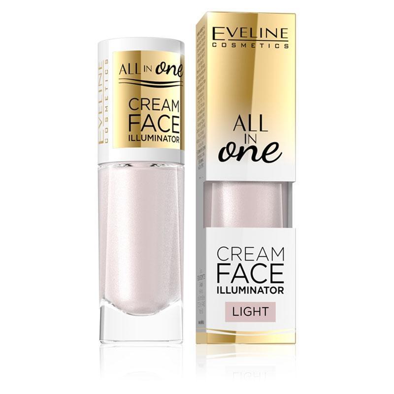 Afbeelding van Eveline Cosmetics All In One Cream Face Illuminator 8ml. Light