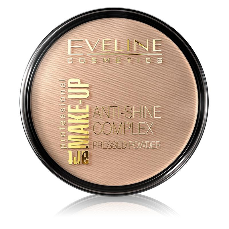 Afbeelding van Eveline Cosmetics Art. Make-up Powder #35 Golden Beige