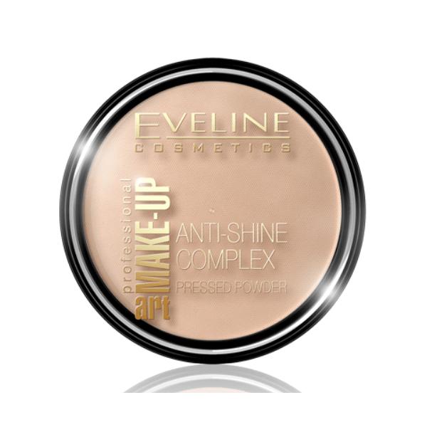 Afbeelding van Eveline Cosmetics Art. Make-up Powder #37 Warm Beige