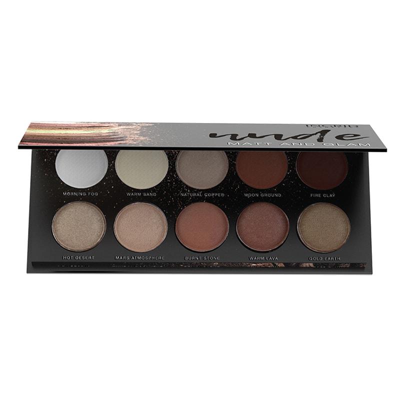 Afbeelding van Ingrid Cosmetics Nude And Natural Eyeshadow Palette
