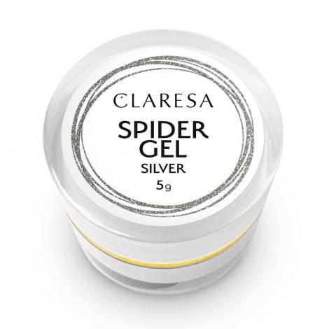 Afbeelding van Claresa Spider Gel Silver