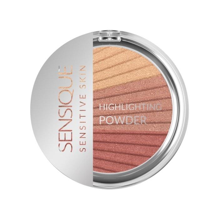 Afbeelding van SENSIQUE Hypoallergene Highlighting Pressed Powder Seashell