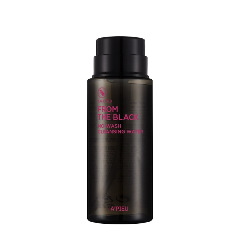 Afbeelding van A'PIEU From The Black No-Wash Cleansing Water 250ml.