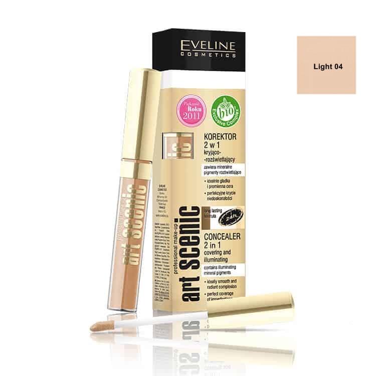 Afbeelding van Eveline Cosmetics Art Scenic Concealer 2in1 Light