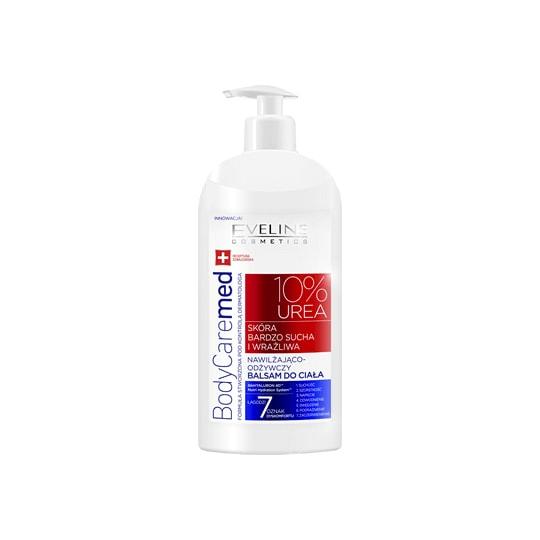 Afbeelding van Eveline Cosmetics Body Care Med 10% Urea Body Balm 350ml.