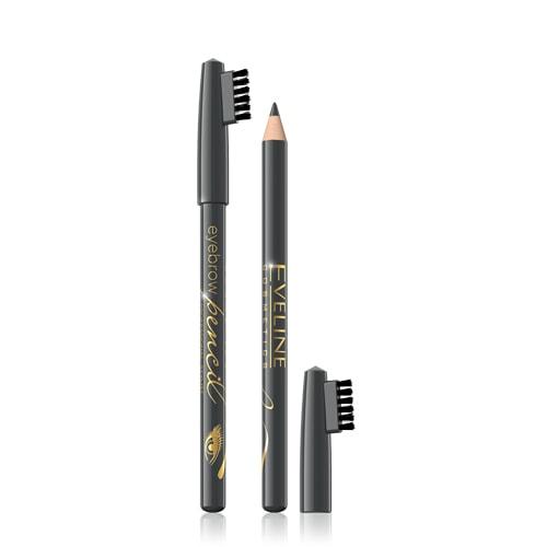 Afbeelding van Eveline Cosmetics Eyebrow Pencil Grey With Brush