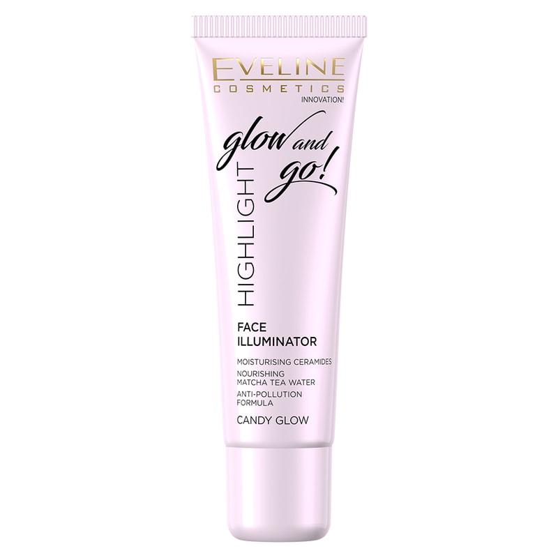 Afbeelding van Eveline Cosmetics Face Illuminator Glow And Go Candy Glow 20ml.