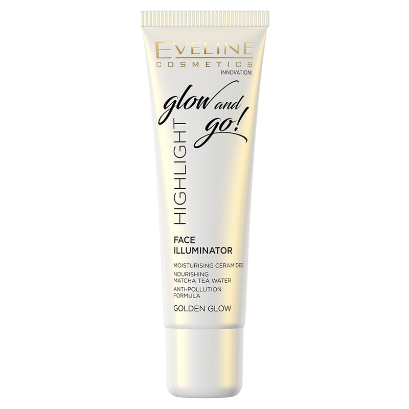 Afbeelding van Eveline Cosmetics Face Illuminator Glow And Go Golden Glow 20ml.