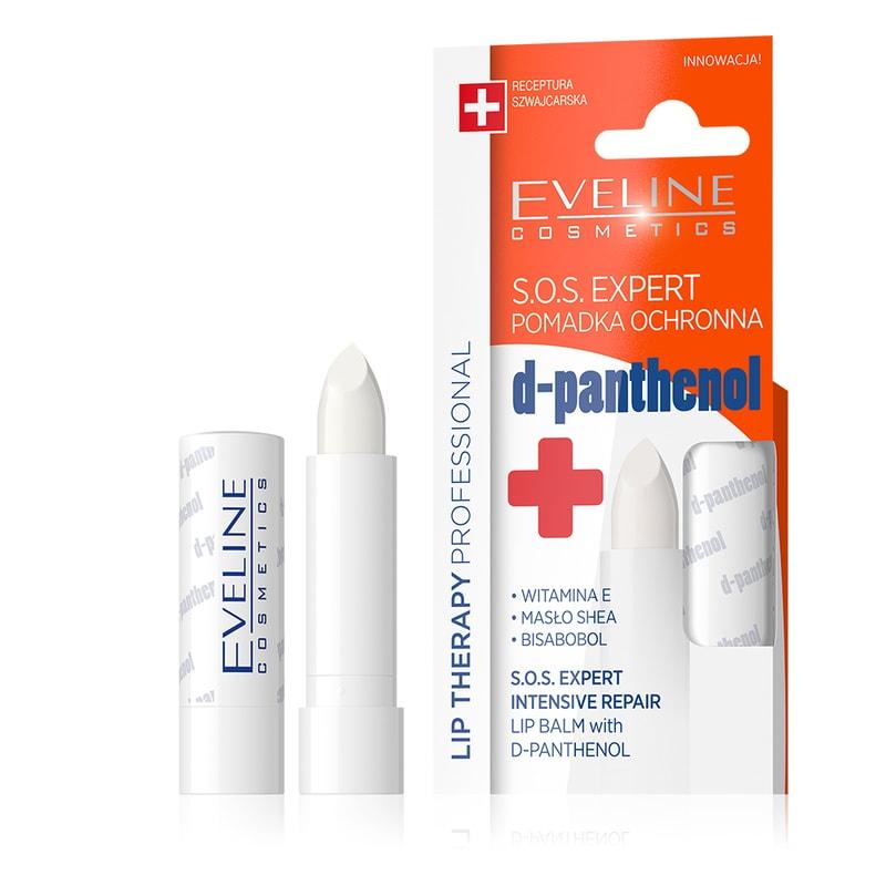 Afbeelding van Eveline Cosmetics Lip Therapy Intensive Repair Balm Sos D-panthenol
