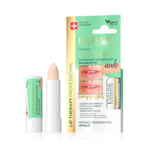 Afbeelding van Eveline Cosmetics Lip Therapy Professional S.O.S. Expert Lip Balm Tint Nude