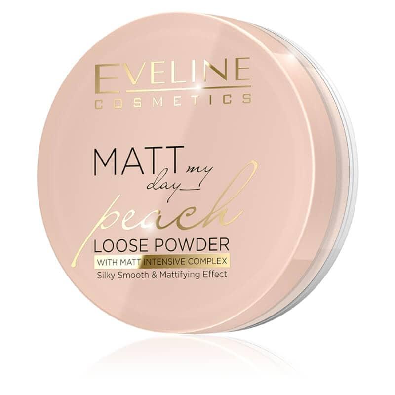 Afbeelding van Eveline Cosmetics Matt My Day Loose Powder Peach