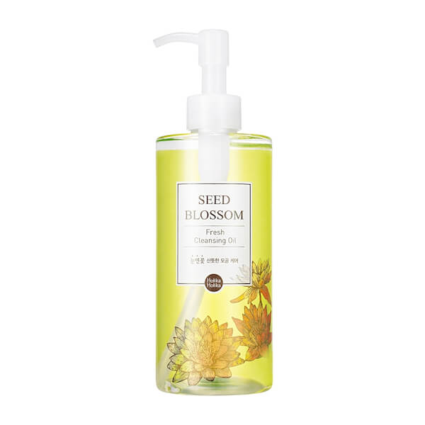 Afbeelding van Holika Holika Seed Blossom Fresh Cleansing Oil 300ml.