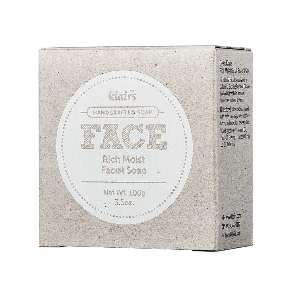 Afbeelding van Klairs Rich Moist Facial Soap 120g.