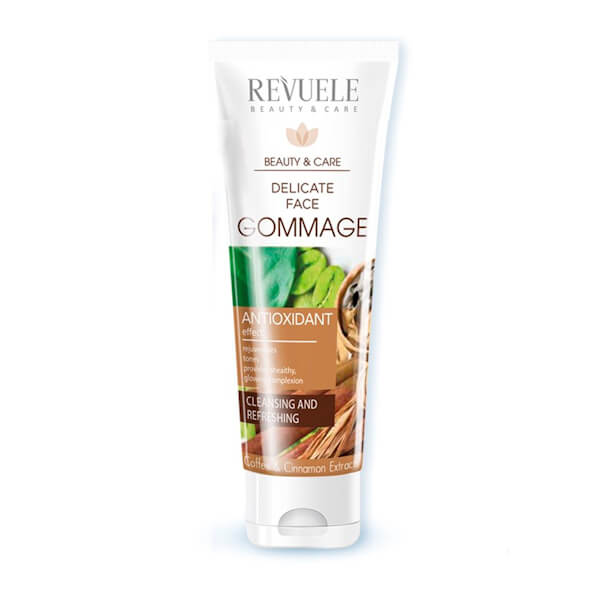 Afbeelding van Revuele Delicate Face Gommage With Coffee And Cinnamon Extract 80ml.