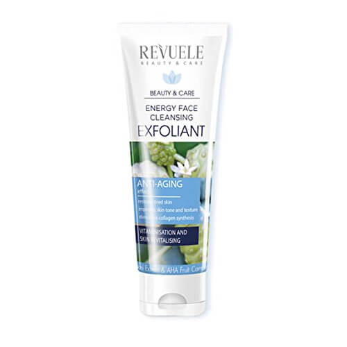 Afbeelding van Revuele Energy Face Cleansing Exfoliant With Noni Extract & AHA Fruit Complex 80ml.