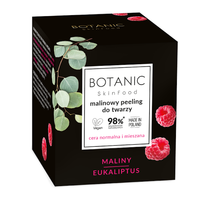 Afbeelding van Botanic Skinfood Raspberry Scrub For Normal And Combination Skin 50ml.